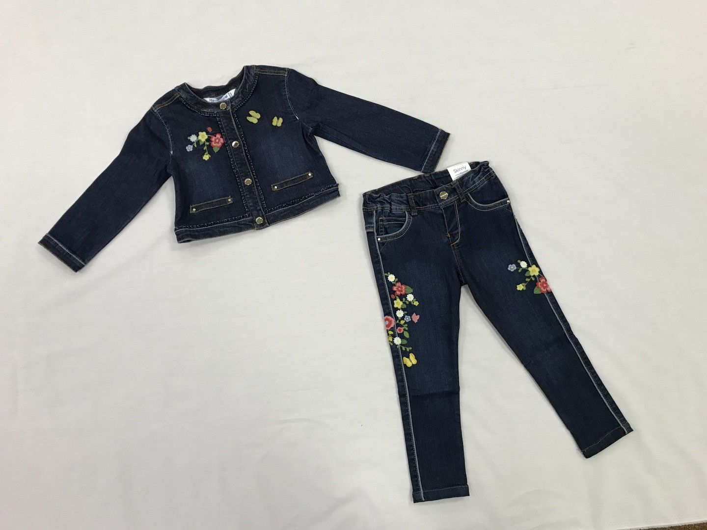 JEAN JACKET AND PANTS 2-PIECE SET SIZES 9M-24M