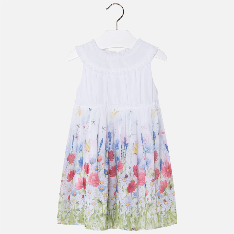 MAYORAL FLORAL SUMMER DRESS SIZES 2-8